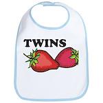 Twins Two of a Kind Maternity Bib