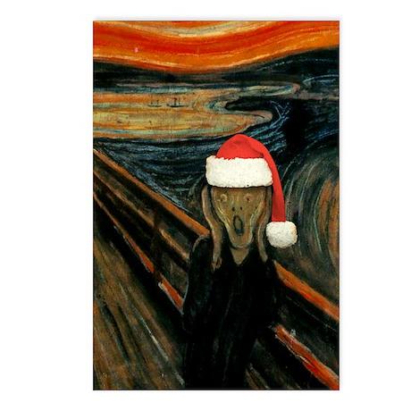 Scream Santa Postcards (Package of 8)