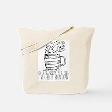 Funny Teacup Tote Bag