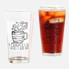 Unique Teacup Drinking Glass