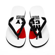 I Love Great GrandMother Flip Flops
