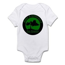Make A Difference - Go Green Infant Bodysuit