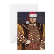 Santa VIII Greeting Cards (Pk of 20)