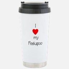 I love my granddog Travel Mug