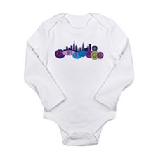 Funny Willis Long Sleeve Infant Bodysuit