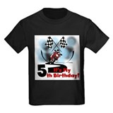 5th racing Kids T-shirts (Dark)