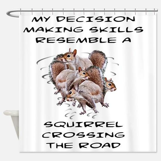 Unique Squirrels Shower Curtain