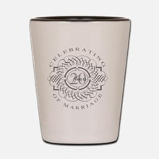 Funny 20th anniversary Shot Glass