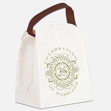 Elegant wedding Canvas Lunch Bag