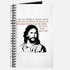JESUS LOVE - I do and I did Journal