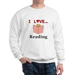 I Love Reading Sweatshirt