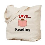 I Love Reading Tote Bag