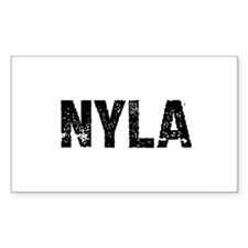 Nyla Rectangle Decal