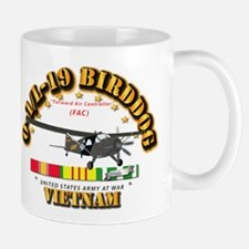 L19 Bird Dog w VN Svc Ribbons Mug