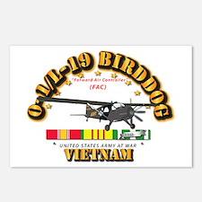 L19 Bird Dog w VN Svc Rib Postcards (Package of 8)
