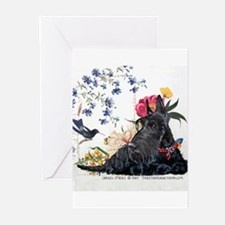 Cool Scottish terrier Greeting Cards (Pk of 20)