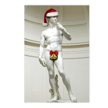Santa David Postcards (Package of 8)
