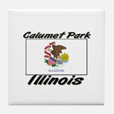 Calumet Park Illinois Tile Coaster