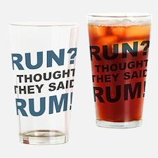 Cool Running 13.1 Drinking Glass