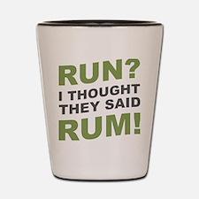 Funny Rum Shot Glass