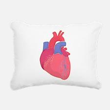 Valentine Heart Rectangular Canvas Pillow
