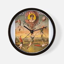 Vintage poster - Descente D'absalon Wall Clock