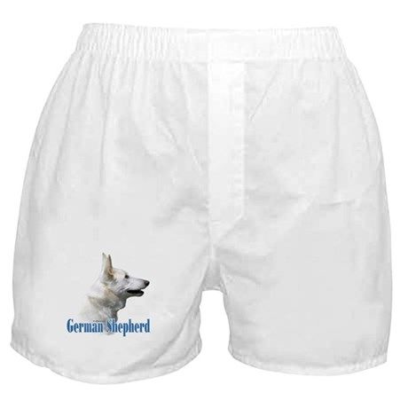 GSD(white)Name Boxer Shorts