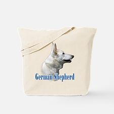 GSD(white)Name Tote Bag