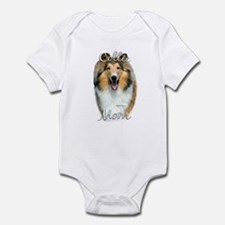Collie Mom2 Infant Bodysuit