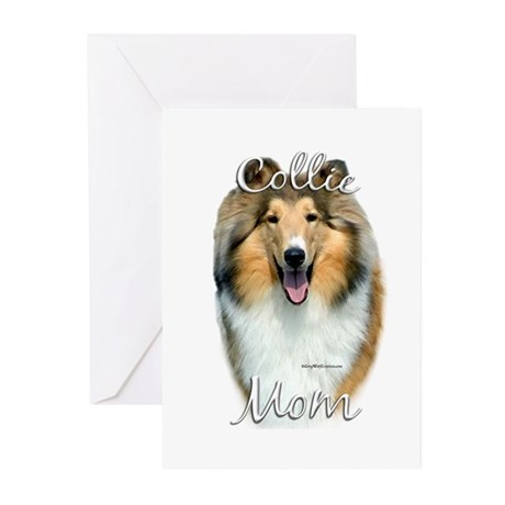 Collie Mom2 Greeting Cards (Pk of 20)