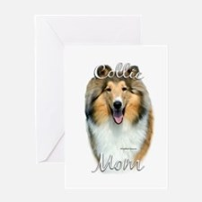 Collie Mom2 Greeting Card
