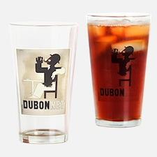 Vintage poster - Dubonnet Drinking Glass