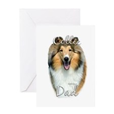 Collie Dad2 Greeting Card