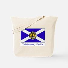 Tallahassee FL Flag Tote Bag