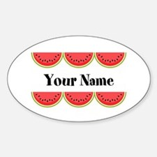 Watermelons Personalized Decal