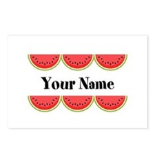 Watermelons Personalized Postcards (Package of 8)