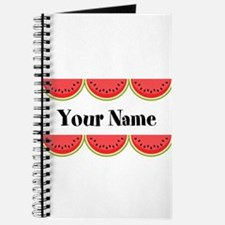 Watermelons Personalized Journal
