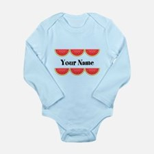Watermelons Personalized Body Suit