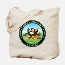 Living Organic Kansas Tote Bag