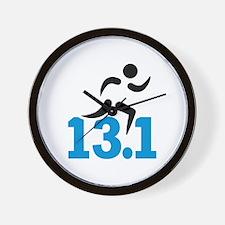 Half marathon 13.1 miles Wall Clock