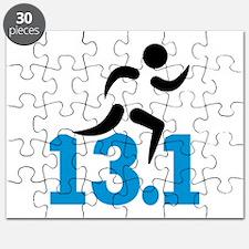 Half marathon 13.1 miles Puzzle