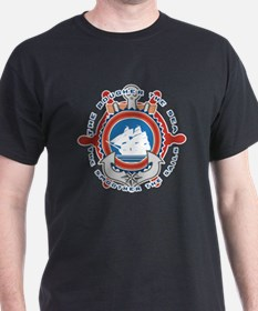 Unique Navy anchors aweigh T-Shirt