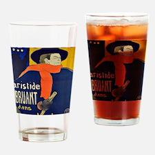 Vintage advertisement Drinking Glass