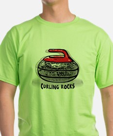 Cute The sport of curling. T-Shirt