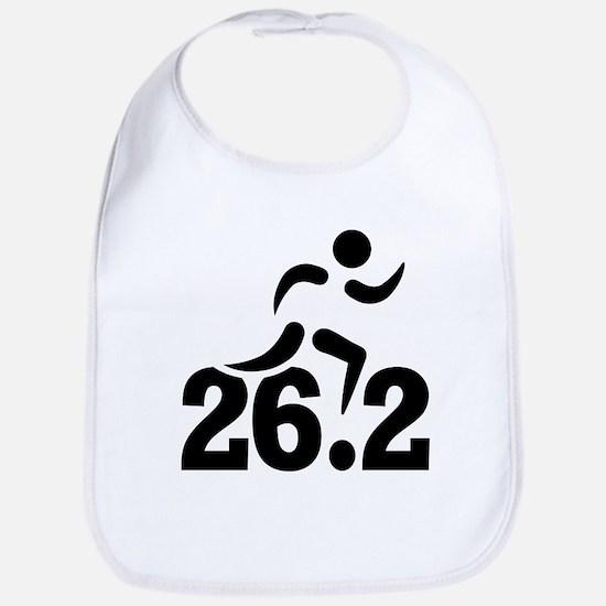 26.2 miles marathon Bib