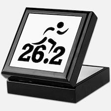 26.2 miles marathon Keepsake Box
