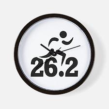 26.2 miles marathon Wall Clock