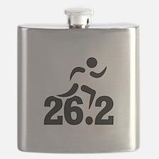 26.2 miles marathon Flask