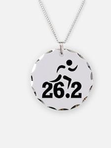 26.2 miles marathon Necklace