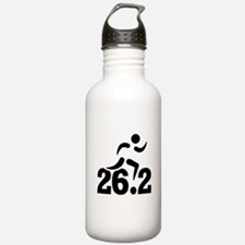 26.2 miles marathon Water Bottle